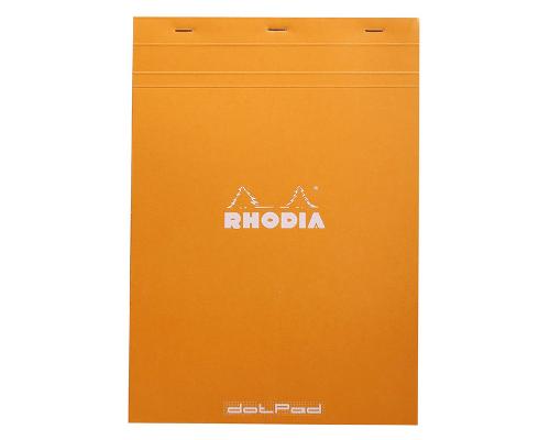 Papel Rhodia para hacer lettering punteado A4
